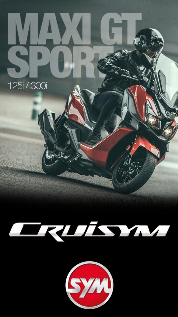 moto scooter maxi scooter cruisym oferta